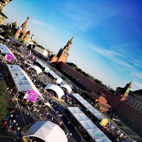 Пресс-служба книжного фестиваля «Красная площадь»