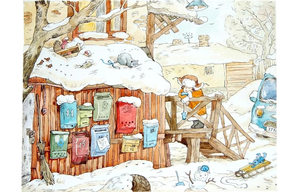 «Лёшкины карандаши». Иллюстрации и обложки книг предоставлены «Издательским Домом Мещерякова»