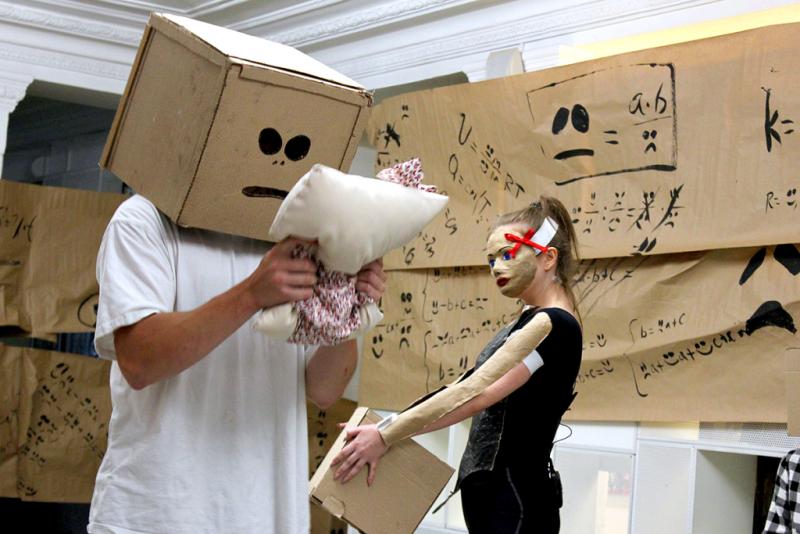 «Мучные младенцы» / Фотография с сайта Московского театра кукол