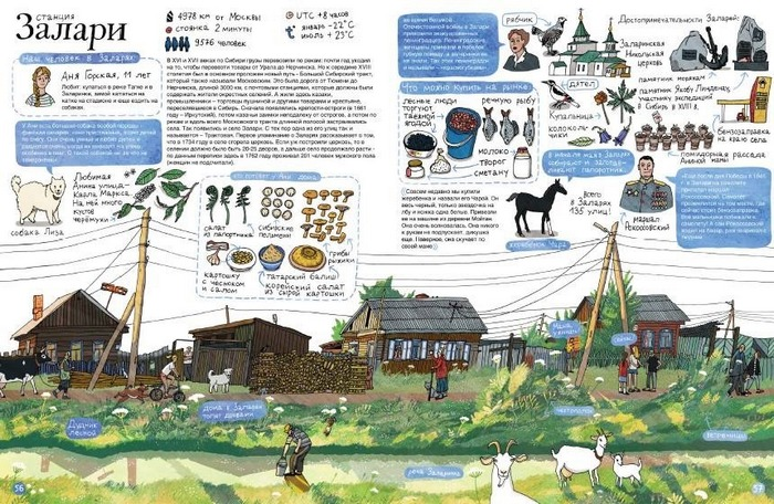 Иллюстрация к книге «Транссибирский экспресс»