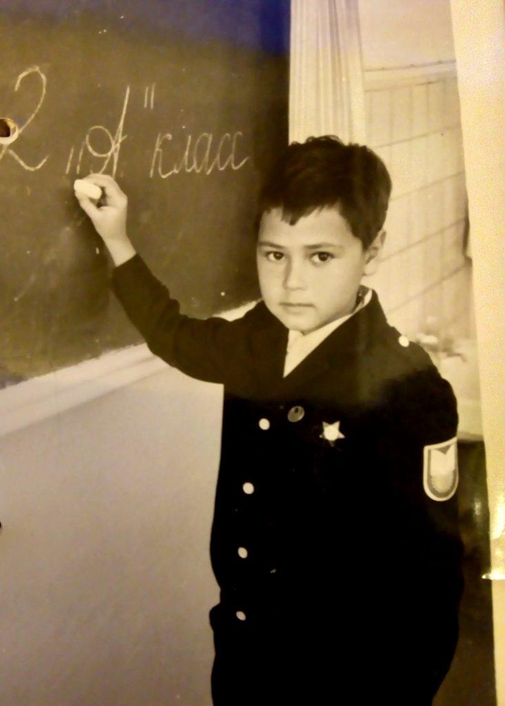 Василий Авченко, 1988 год /фото из личного архива