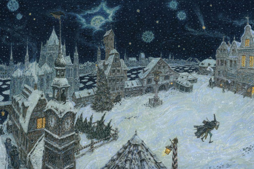 Иллюстрация к сказке Э. Гофмана «Щелкунчик и мышиный король»