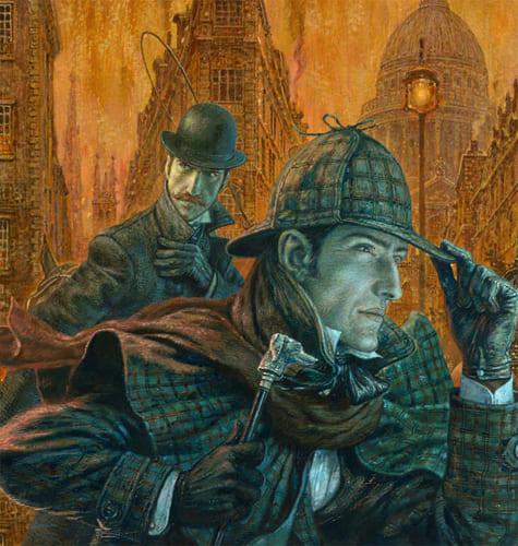 Иллюстрация к «Шерлоку Холмсу» А. Конан Дойла