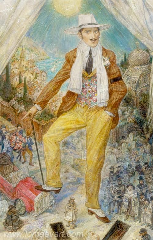 Иллюстрация к «Одесским рассказам» И. Бабеля