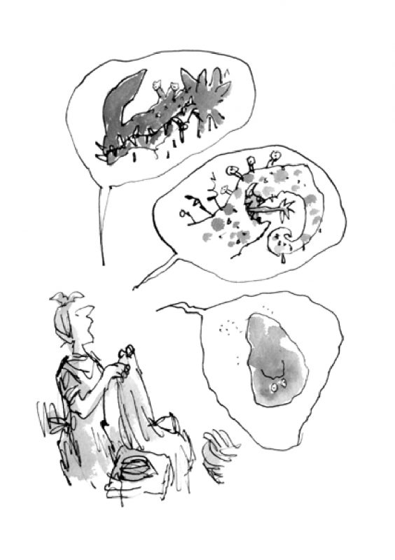 """""""Билли и кнопы"""". Иллюстрация предоставлена издательством """"Самокат"""""""