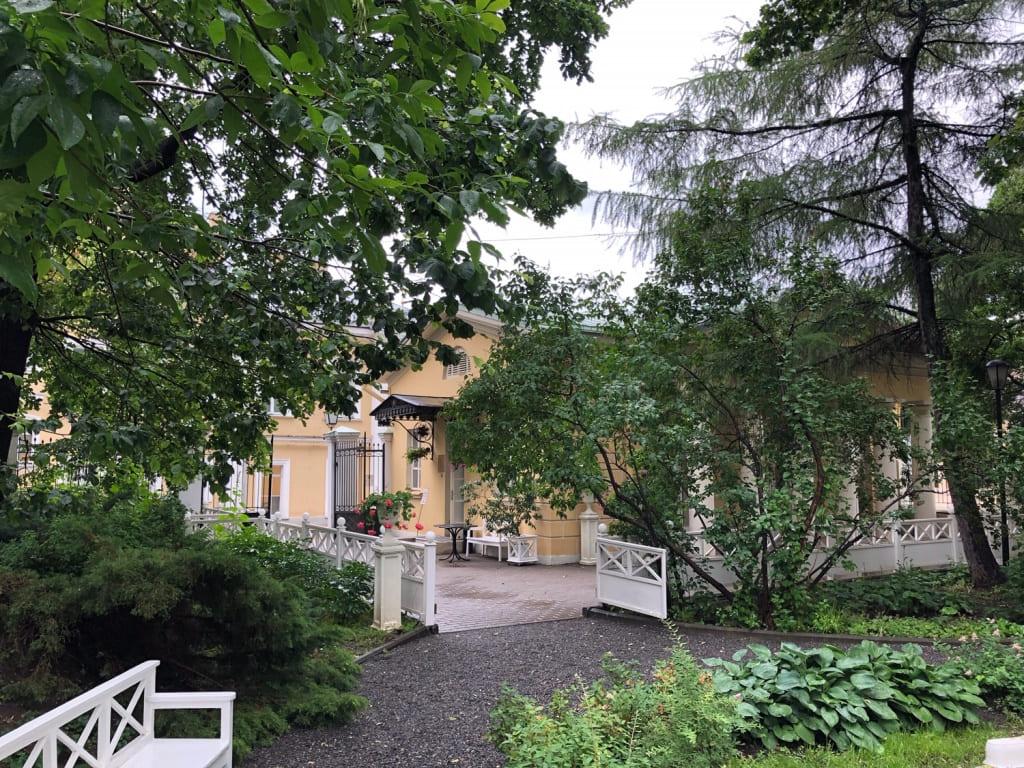 Приусадебный сад Государственного музея А.С. Пушкина