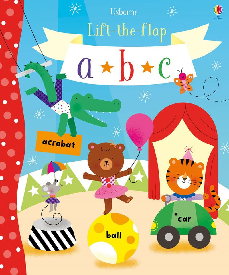 Hannah Watson. Lift-the-flap ABC. Издательство Usborne