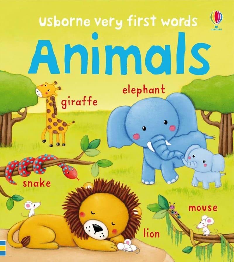 Серия книг Very first words. Издательство Usborne