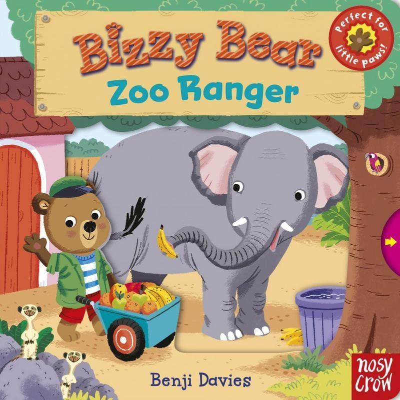 Benji Davies. Серия книг Bizzy Bear. Издательство Nosy Crow