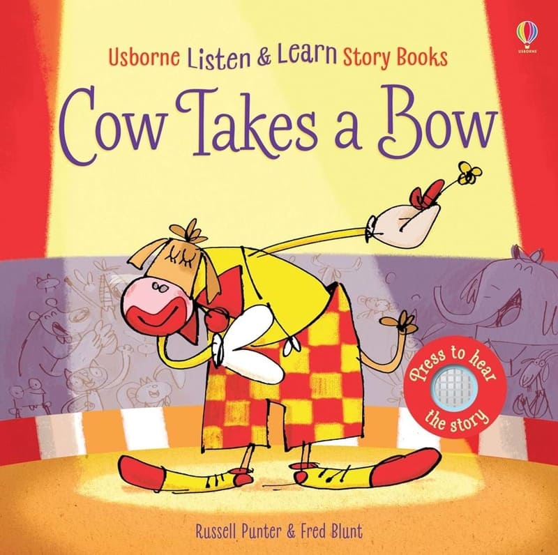Серия книг Listen and learn stories. Издательство Usborne
