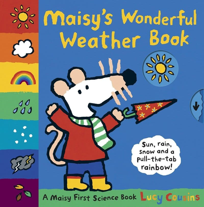 Lucy Cousins. Maisy's Wonderful Weather Book. Издательство Walker Books