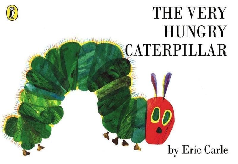 Eric Carle. The Very Hungry Caterpillar. Издательство Puffin