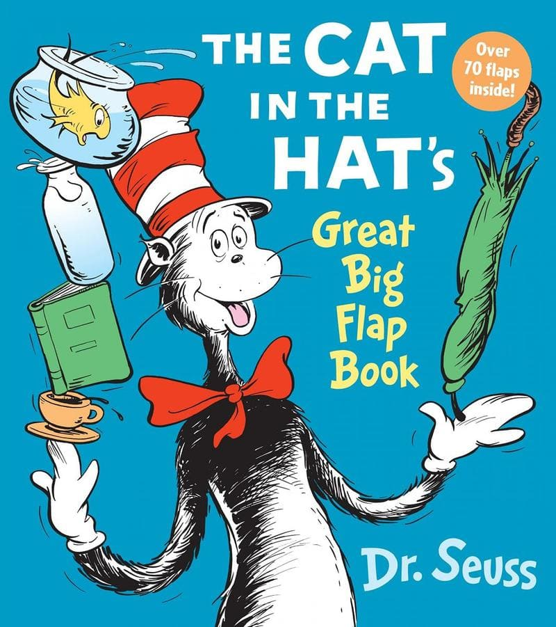 Dr. Seuss. The Cat In The Hat's Great Big Flap Book. Издательство Random House