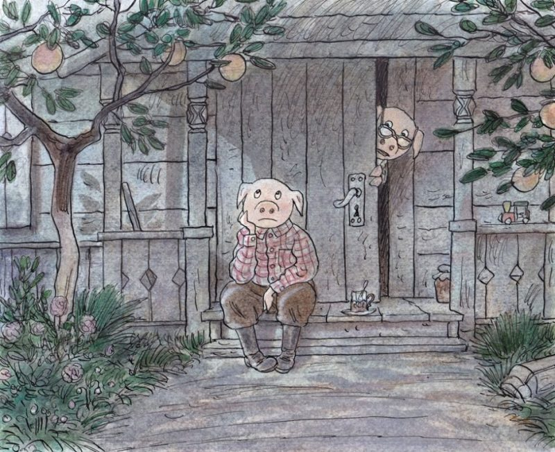 «Про художника Фому» Андрей Аринушкин (эскиз иллюстрации к будущей книге)