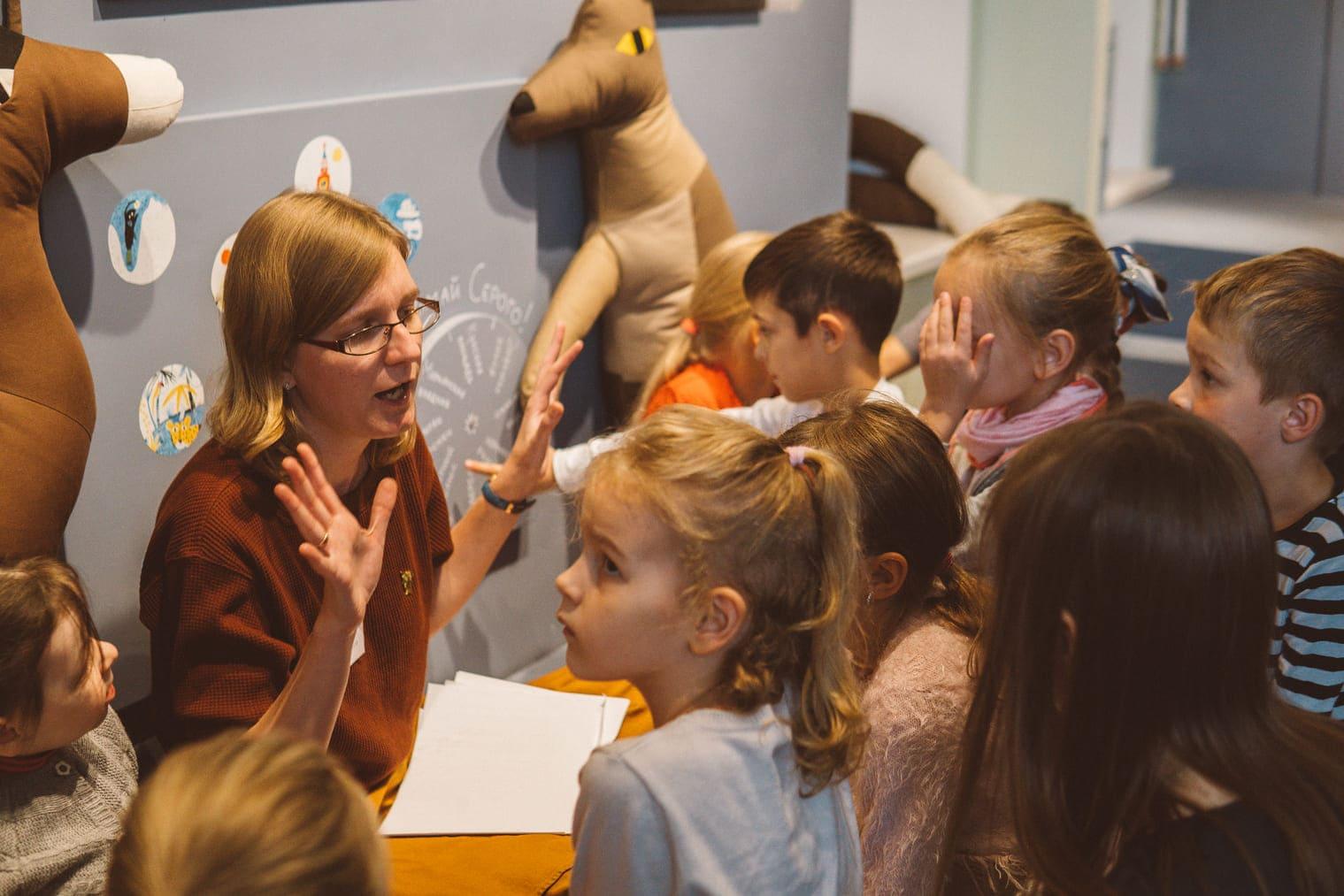 Читаем с кентавром: новый центр детского творчества на Зубовском бульваре
