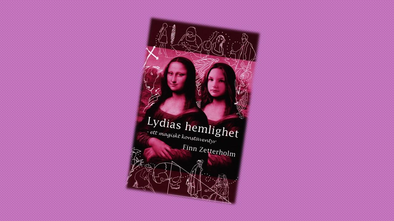 Оригинальная шведская обложка книги «Тайны Лидии»