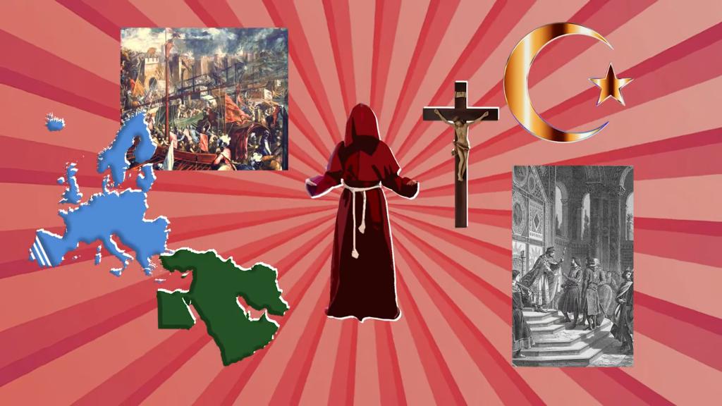 #ИсторияLike: крестоносцы на марше