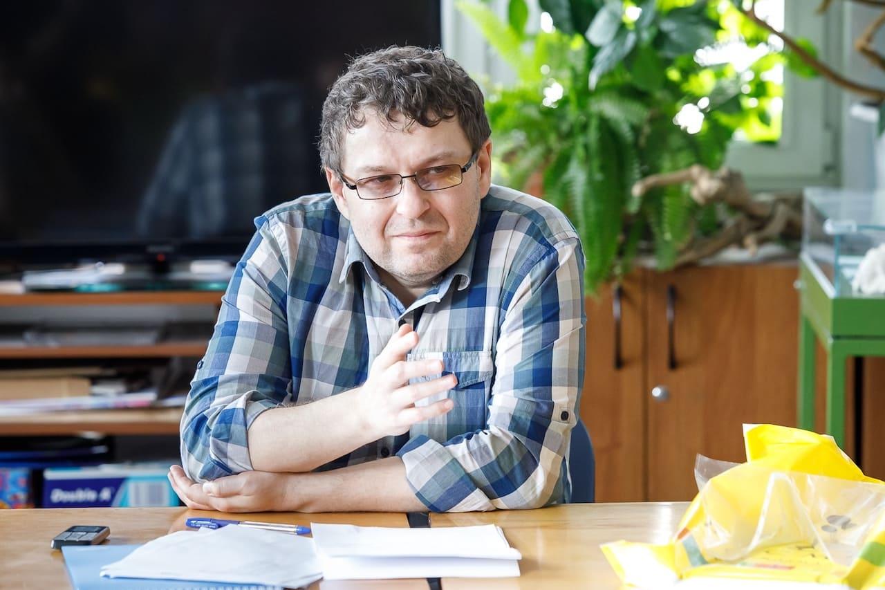 Эдуард Веркин в РГДБ