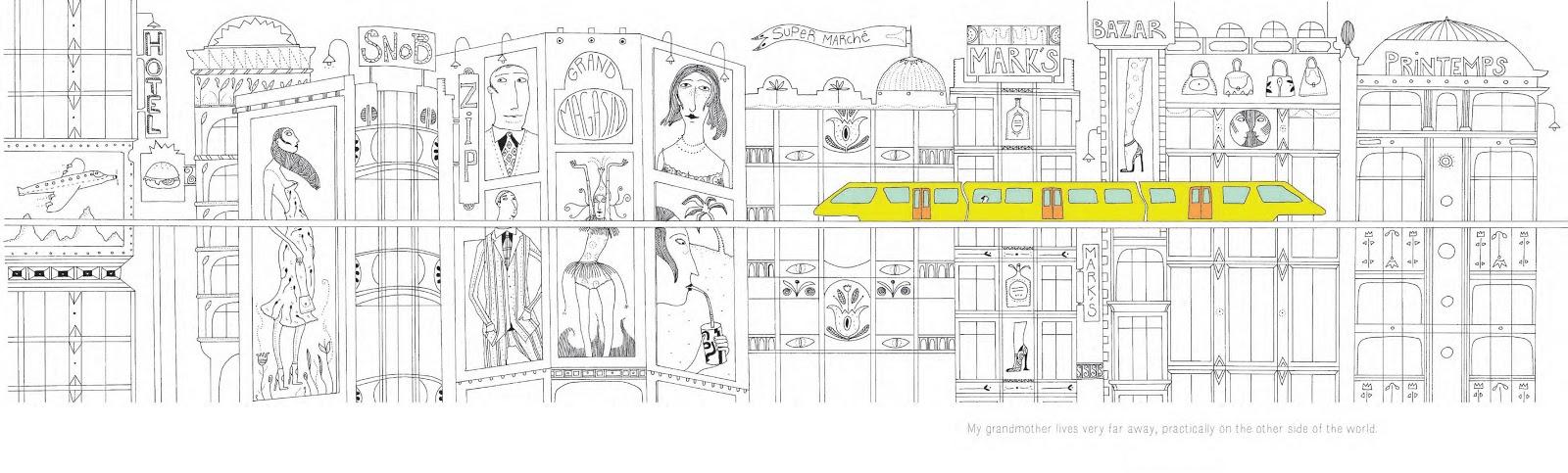 Иллюстрация к книге Ligne 135 (Линия 135)