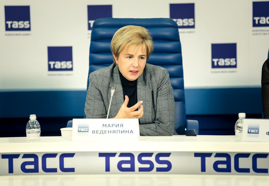Мария Веденяпина, РГДБ