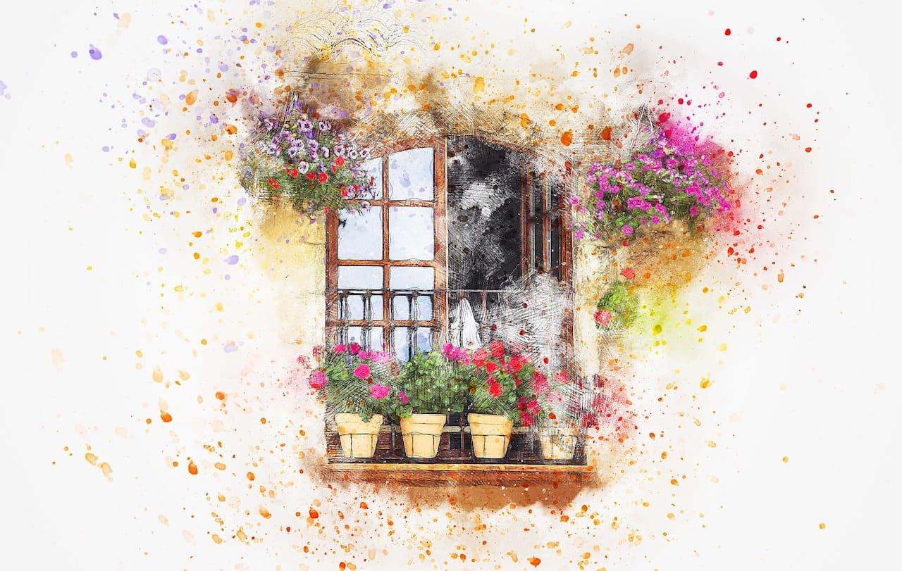 «Весна на балконе»
