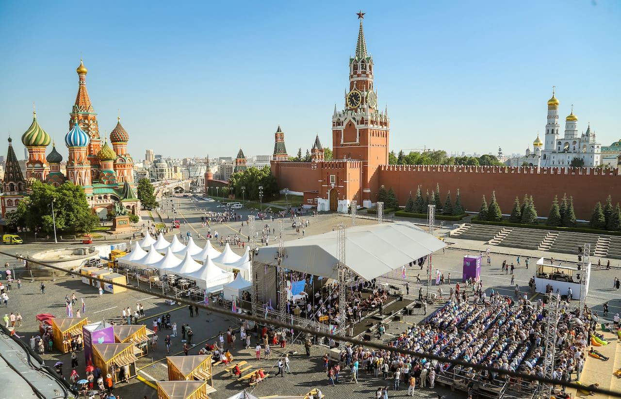 Книжный фестиваль «Красная площадь» – 2019