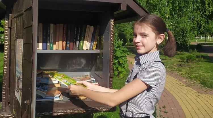 Книжные домики появились под Белгородом