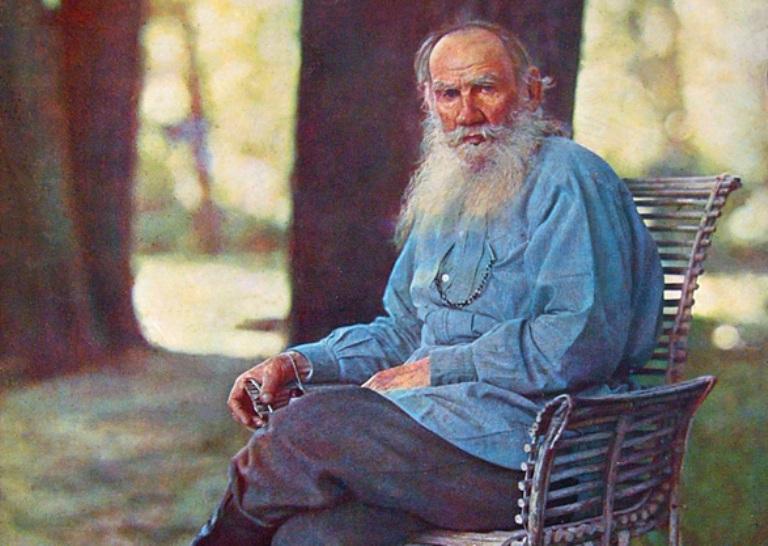 Лев Толстой. Фото С. Прокудина-Горского