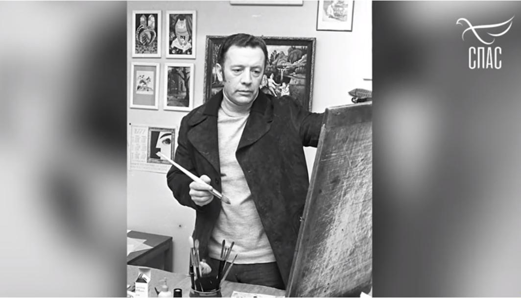 Телеканал «Спас» о Народном художнике России Викторе Чижикове