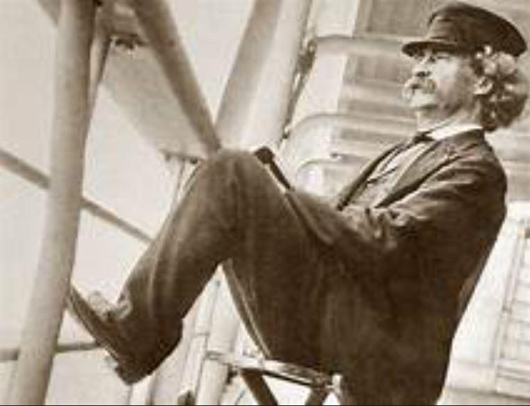 Марк Твен пароход