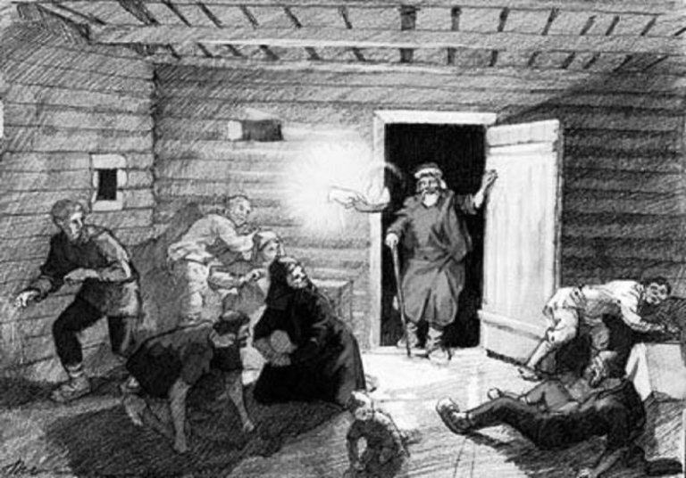 Leskov. «Hristos v gostyah u muzhika»