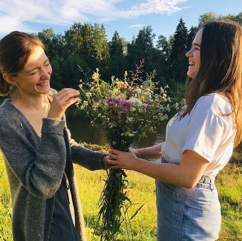 Настя Фрыгина и Настасия Пономарёва