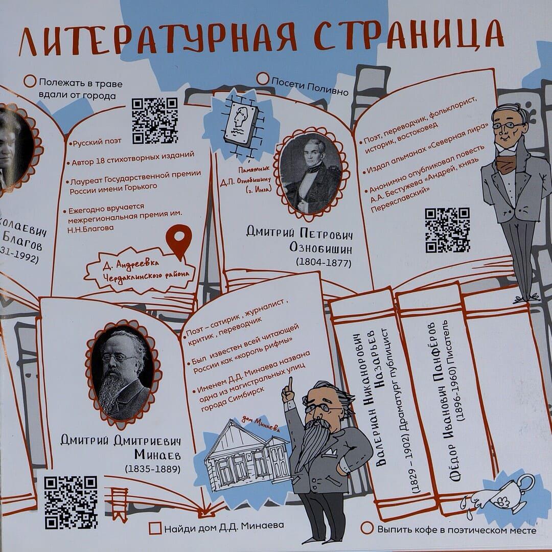 Шатунова А. В. «Квестбук по Ульяновской области : книга литературных явлений»